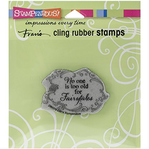 Stampendous Cling Rubber Stamp, Timeless  (Fairy Tale Stamp)