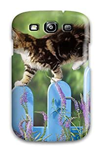 For Brooullivan Galaxy Protective Case, High Quality For Galaxy S3 Kitten Balance Skin Case Cover