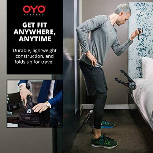 OYO Personal Gym - Full Body Portable Gym Equipment Set for Exercise at Home, Office or Travel - SpiraFlex Strength Training Fitness Technology - NASA Technology 6