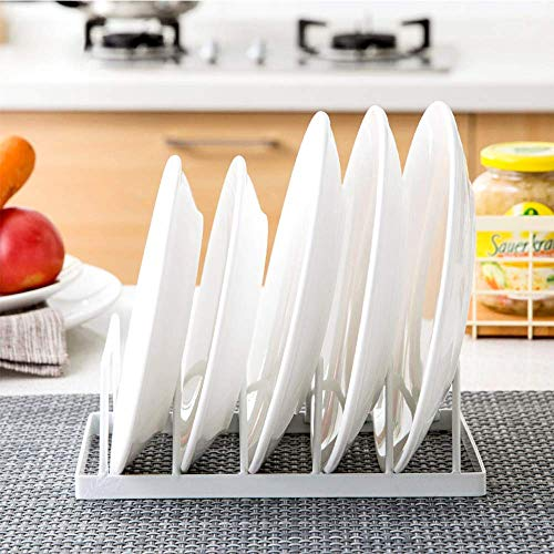 shiok decor™ Dish Plate Storage Drainboard, Tomorotec Pot Lid Holder Dish Rack Plate Drying Drainer Stand Cabinet Organizer Price & Reviews