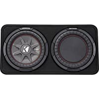 Kicker 43TCWRT102 CompRT 10 2-Ohm Subwoofer in Thin Profile Enclosure
