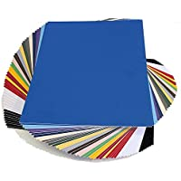topseller100, Pack of 50 sheets 11x14 UNCUT mat matboard MIX Color