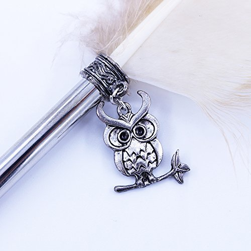 Novelty-Vintage-Owl-Feather-Pen-Refined-Feather-Quill-Dip-Pen-for-Wedding-Signature-Writing-Pen