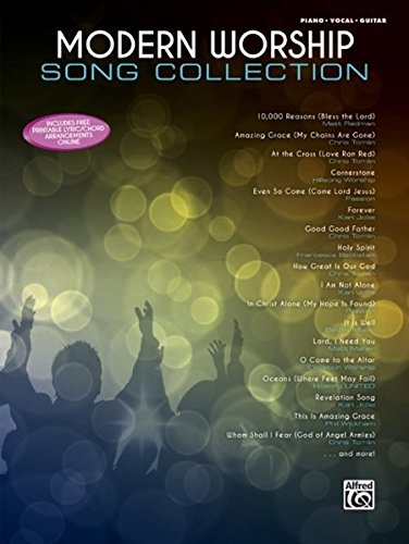 - Modern Worship Song Collection: Piano/Vocal/Guitar