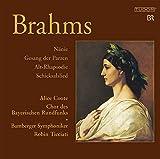 Brahms: Nanie / Gesang der Parzen / Alto Rhapsody / Schicksalslied, Opp. 53, 54, 82, 89