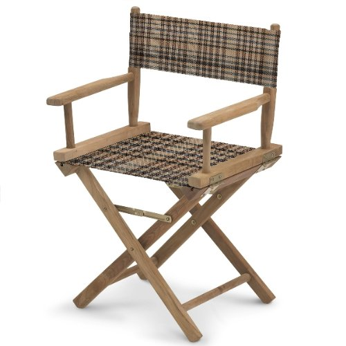 Kensington Director Chair Seat & Back, Deluxe Black, One Size