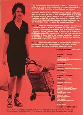 Volver (Edición especial + libro) [DVD]: Amazon.es: Penelope ...