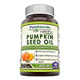 Cheap Pure Naturals Pumpkin Seed Oil, 1000 mg 90 Softgels -Supports Inflammatory Response* -Promotes Prostate & Urinary Tract Health* -Rich Source of Phytosterols*