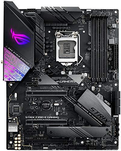 ASUS 90MB0YF0-M0EAY1 Motherboard, ASUS STRIX Z390-E Gaming, Intel Z390, RoG - Sockel 115 Black