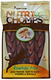 Scott Pet Nt013 Nutri Chomps Braid Chicken Flavor Dog Chew (4 Count), 6″ Review