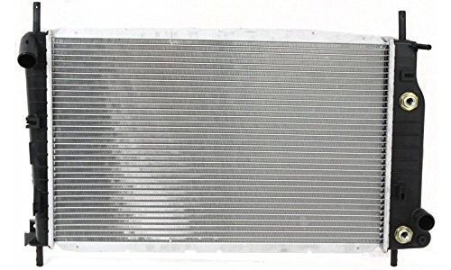 Evan-Fischer EVA27672031505 Radiator for FORD CONTOUR 95-00/COUGAR 99-02 w/o EOC and ATC Replaces Partslink# FO3010103