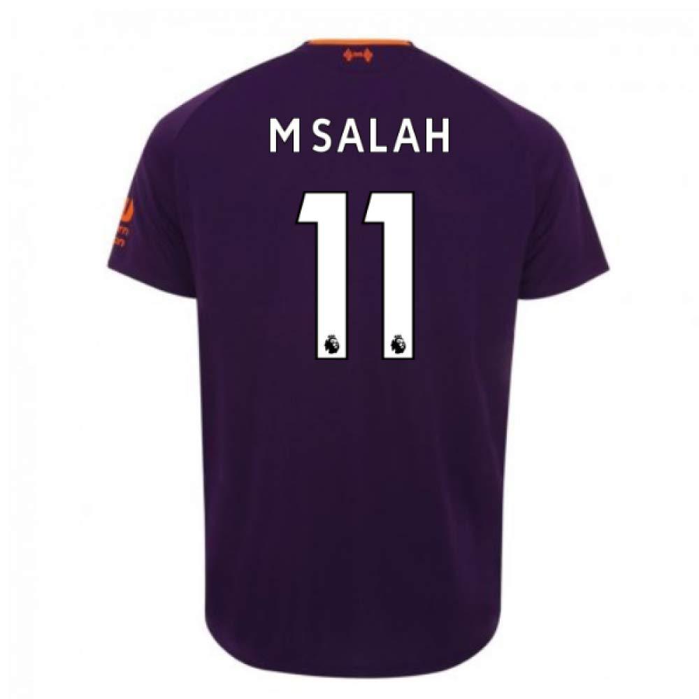 2018-2019 Liverpool Away Football Soccer T-Shirt Trikot (Mohammad Salah 11)