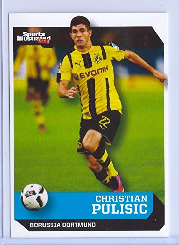 CHRISTIAN PULISIC 2016 SPORTS ILLUSTRATED 1ST EVER PRINTED ROOKIE CARD!