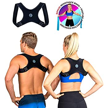 0e8710d78a Posture Corrector for Men and Women- FDA Approved Fully Adjustable and  Lightweight Back Brace for Neck