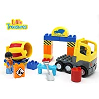 Little Treasures DIY 30Pc Building Brick Construction...