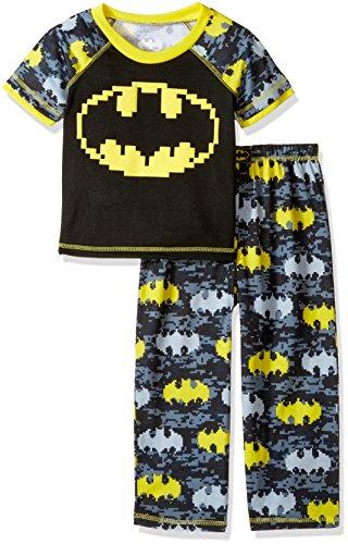 Batman Toddler Boys' Puff Screen Logo 2 Pc Sleepwear Set at Gotham City Store