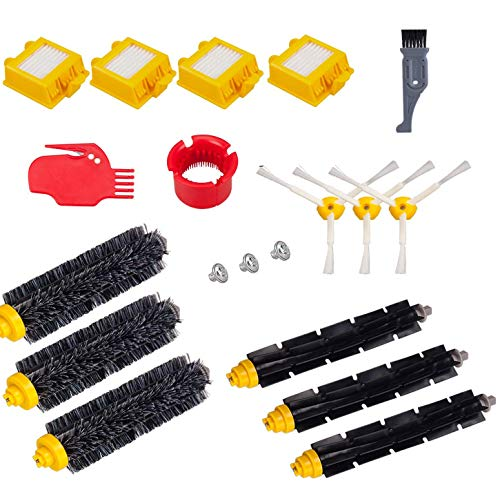 I clean Compatibel with Robot Roomba 760 770 780 790 Vacuum Cleaning Robots Parts, 15 pcs Replacement Roomba Vacuum Cleaning Accessories Kits