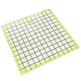 ARTEZA Acrylic Quilters Ruler & Non Slip Rings