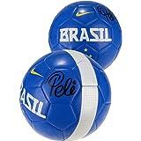 Pele Autographed Brazil Logo Soccer Ball - Fanatics Authentic Certified - Autographed Soccer Balls
