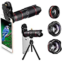 Phone Camera Lens, Best Keiyi 15X iPhone Camera Telephoto...