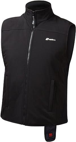 VentureHeat Quad-Zone Heated Soft Shell Motorcycle Vest