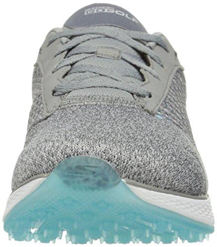 Knit blue Atlético Skechers Gray Mujeres Calzado Talla wYxHZZq6g