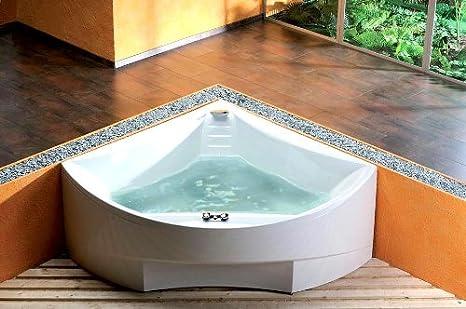Vasca Da Bagno Quadro : Cm vasca ad angolo con pantaloni per vasca da bagno