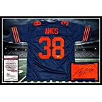 a8917fb19 Adrian Amos Autographed Signed Chicago Bears Throwback Jersey JSA Coa -  Size.