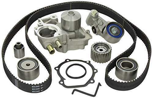 Gates TCKWP328 Engine Timing Belt Kit with Water Pump (2005 Subaru Outback Timing Belt Replacement Cost)