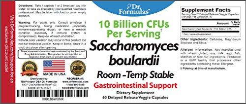 Dr Formulas Saccharomyces Boulardii Vegetarian