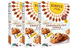 Chocolate Chip Cookies with Coconut Oil Simple Mills Chocolate Chip Cookie Mix, 9.4 Ounce