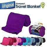 Cloudz Compact Travel Blanket - Deep Purple