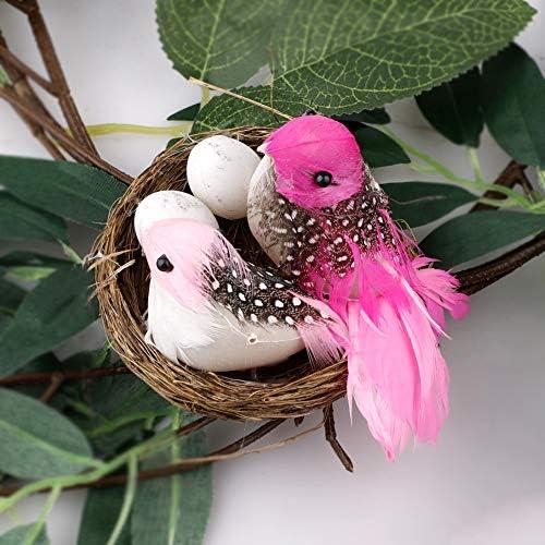 20 Serviettes des nappes easterfriend Chick 33x33 Canards Poussins Fleurs Couronne Hyacinthe