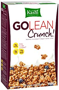 Kashi GOLEAN Crunch! Cereal, 15-Ounce Boxes (Pack of 4)