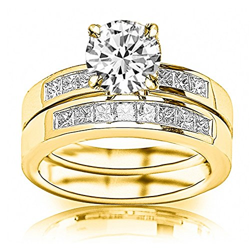 1.4 Ct Princess Diamond - 6