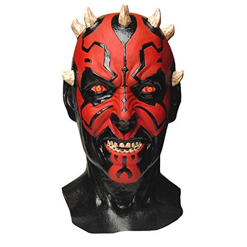 Star Wars Darth Maul Mask with Collector's Box