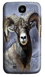 Big Horn Sheep Custom Samsung Galaxy I9500/Samsung Galaxy S4 Case Cover Polycarbonate 3D Kimberly Kurzendoerfer