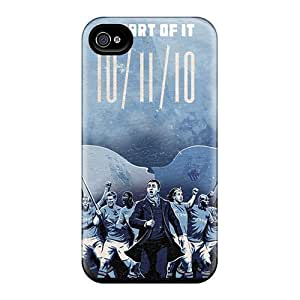 High-end Case Cover Protector For Iphone 4/4s(the Popular Team Of Manchester City)
