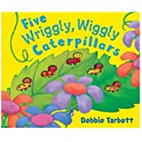 Five Wriggly, Wiggly Caterpillars (Mini Moulded Counting Books)