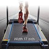 MaxKare Folding Treadmill Electric Motorized