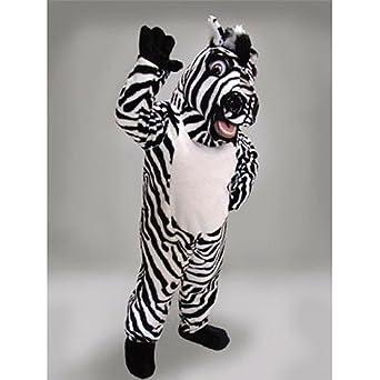sc 1 st  Amazon.com & Amazon.com: Zebra Mascot Costume: Clothing