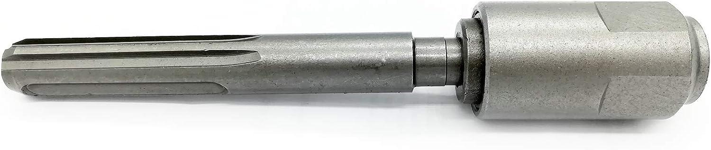 SDS MAX vers prise SDS Plus Adaptateur ciseau /à mandrin pour perceuse SDS Foret /à b/éton M/èche pour marteau perforateur burineur