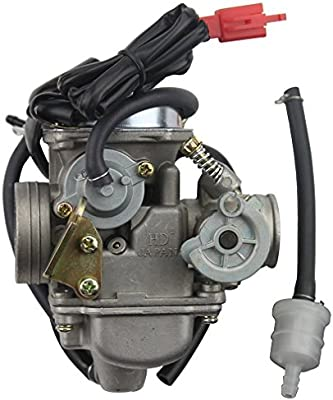 CARBURETOR ELECTRIC CHOKE For GY6 48 50 125 150CC ATV GO KART DIRT BIKE SCOOTER