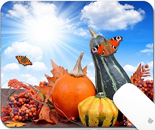 Luxlady Gaming Mousepad 9.25in X 7.25in IMAGE: 22562608 Harvested (Halloween Garnish Food)