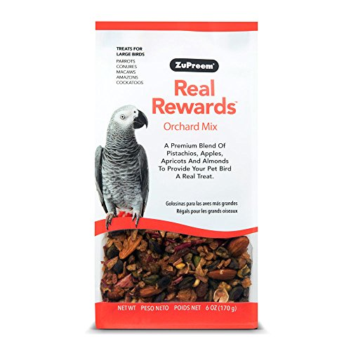Real Rewards Orchard Mix Large Bird Treats by ZuPreem