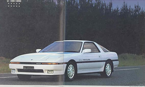 Amazon.com: 1988 Toyota Supra 3.0 GT Turbo 2.0 Twin Turbo Prestige Brochure Japanese: Entertainment Collectibles