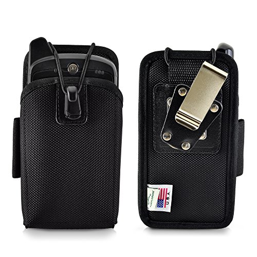 - Turtleback Mobile Computer Case Made for Zebra Motorola MC67 KT-67NA Touch Computer Nylon Holster, 2 Belt Clips (Metal Clip & Belt Loop) Mobile Scanner Holder Fits Devices 6 1/4