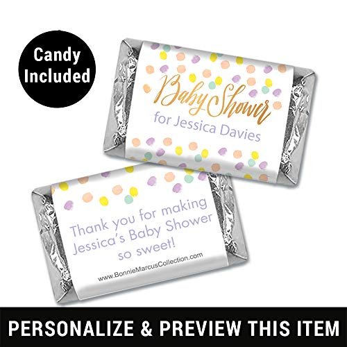 Baby Shower Candy Personalized Hershey's Miniatures (50 Count)