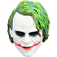 "Sage Square Legendary Heath Ledger ""The Joker"" Face Mask Cosplay, Role Play & Dress up for Party"
