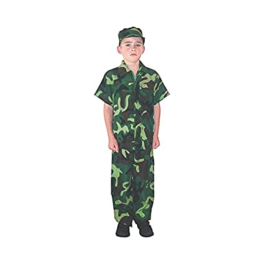 Kids Camo Camouflage Army Military Soilder Jumpsuit Halloween Costume - Forest-Short-S  sc 1 st  Amazon.com & Amazon.com: Kids Camo Camouflage Army Military Soilder Jumpsuit ...